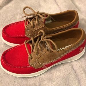 Skechers go walk boat shoes NEW without tags